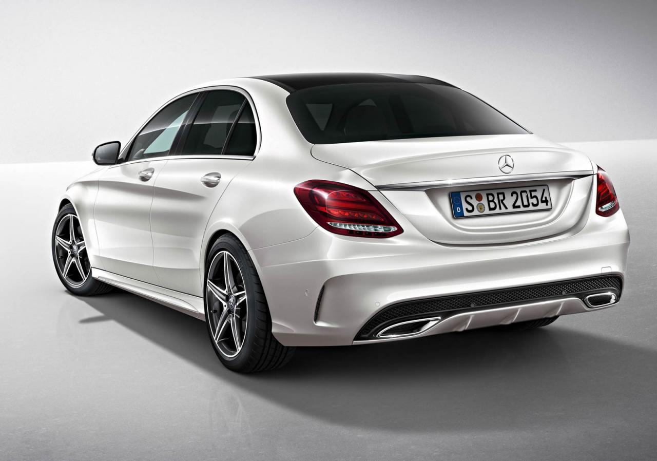 2014-Mercedes-Benz-C-Class-AMG-Line-rear