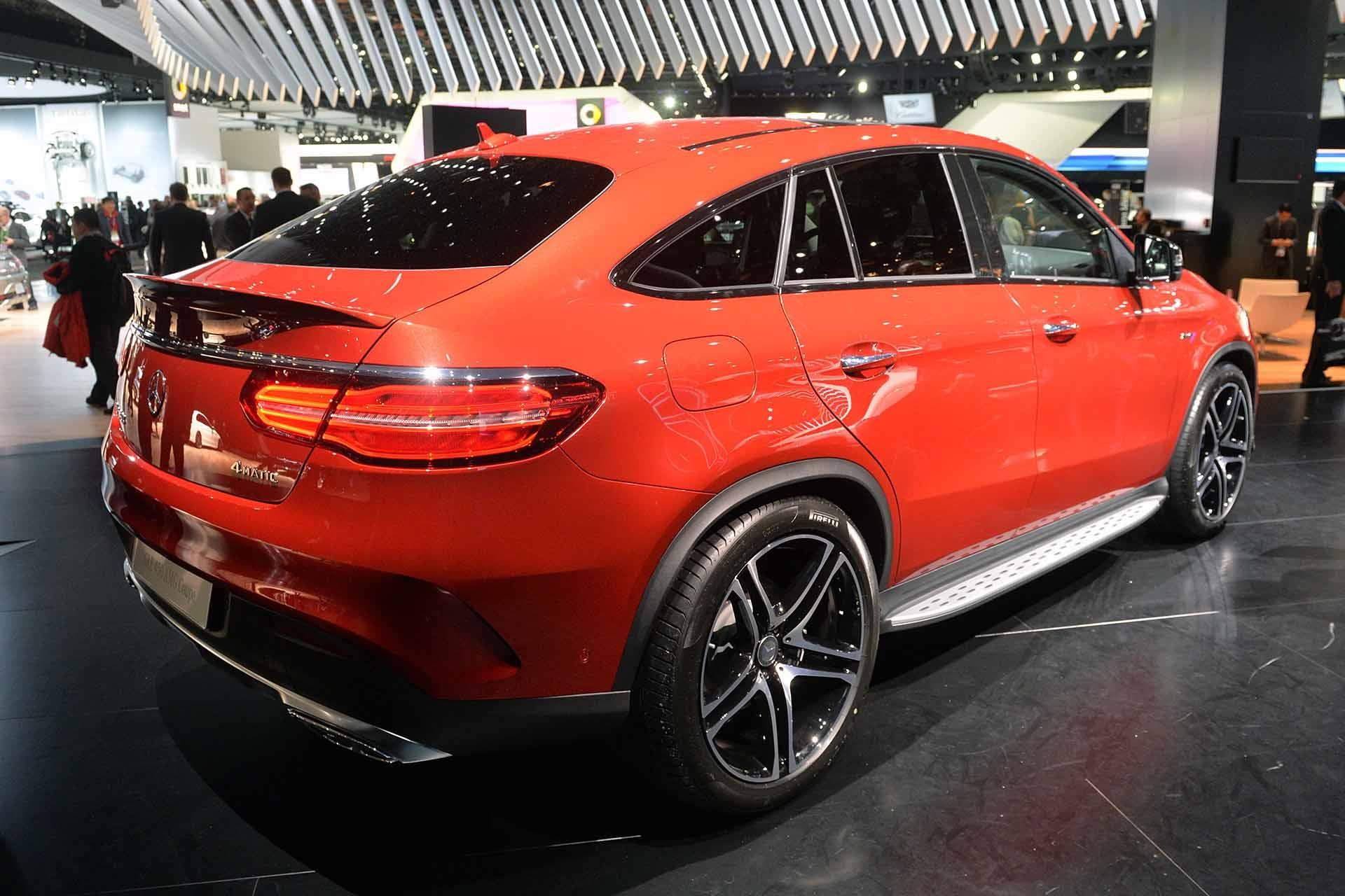 2016 Mercedes Benz GLE 450 AMG Sport Coupe