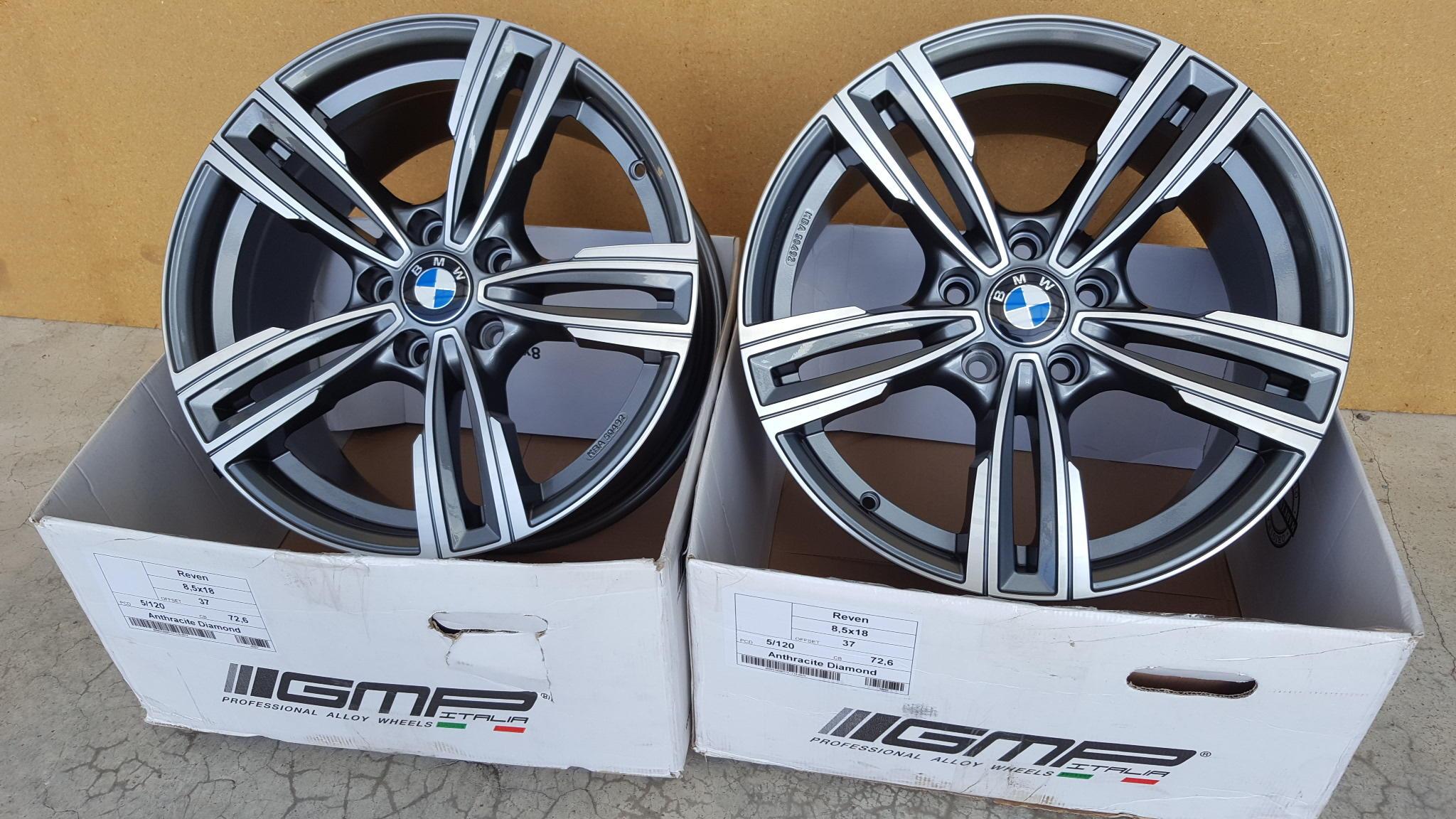 GMP REVEN 18 5x120 BMW 3 4 5 F30 F10 E90 TUV KBA | Auto ...